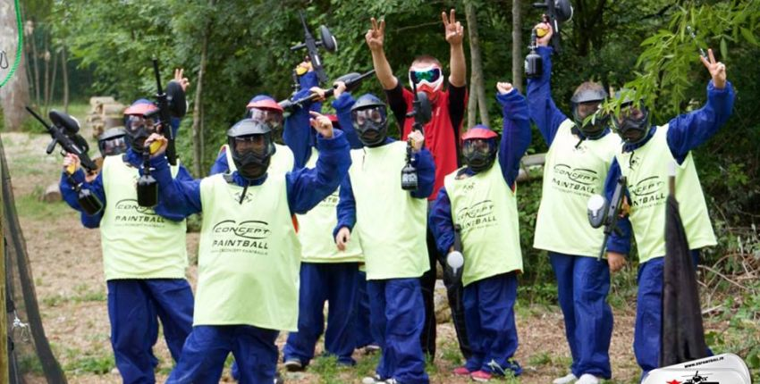 CS Paintball // Paintball au grand air en famille