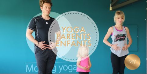 Atelier de Yoga parents et enfants // Moving Yoga // dès 3 ans